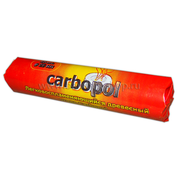 """Саморазжигающийся уголь """"Carbopol"""" 28 мм"""