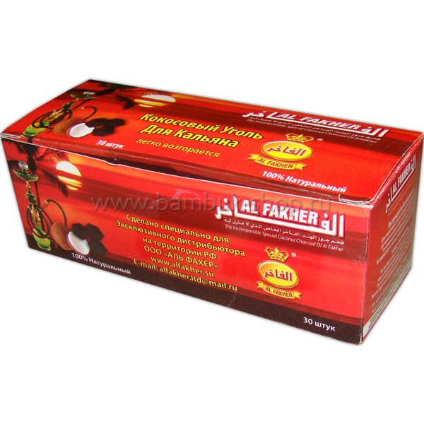 """Уголь """"Al Fakher"""" кокосовый 30"""