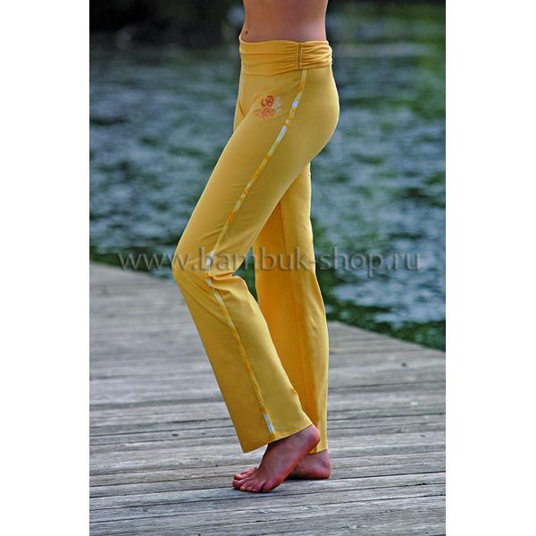 Брюки для йоги женские длинные