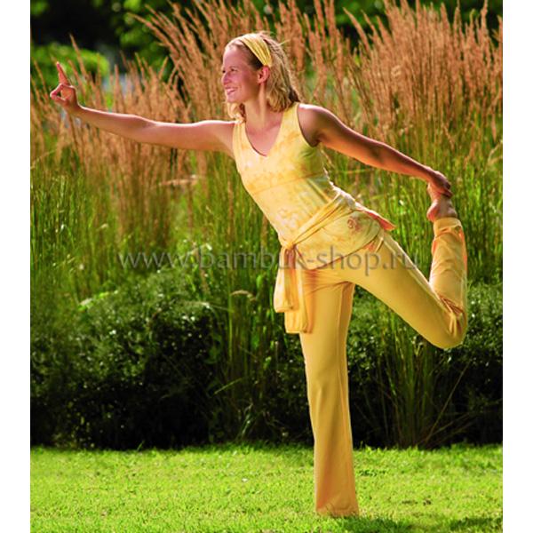 Топ женский Батик из бамбука с длинным рукавом