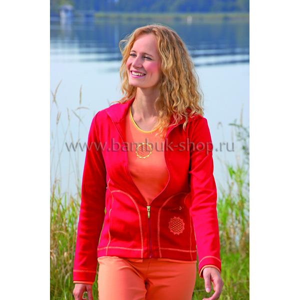 Куртка женская Чакра красная