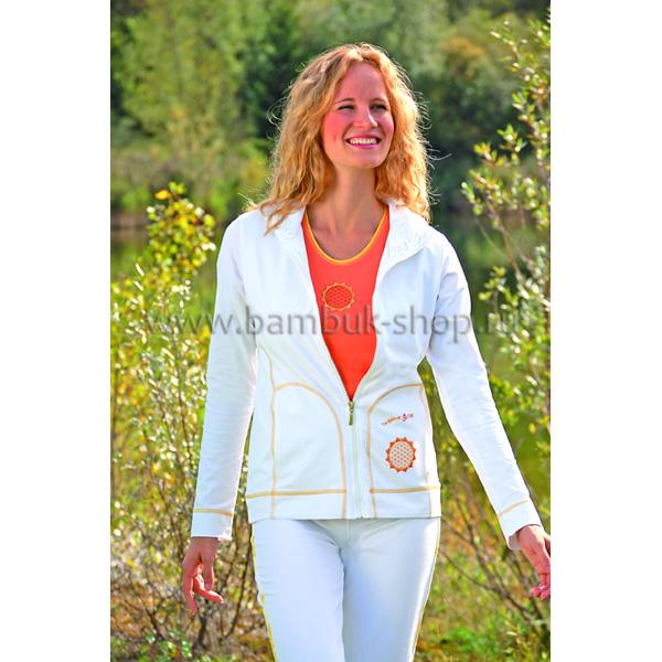 Куртка женская Чакра белая