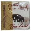 Записная книжка мини со слонами