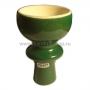 Чашка глиняная наружная цветная