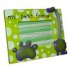 Фоторамка детская зеленая